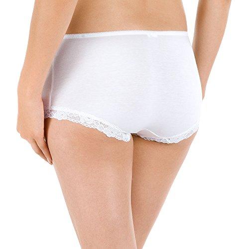 Calida Damen Panties Unterhosen - Vanity Weiß (weiss 001)
