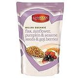 Linwoods semi di lino organici macinati,girasole,zucca,semi di sesamo e bacche Goji 425g