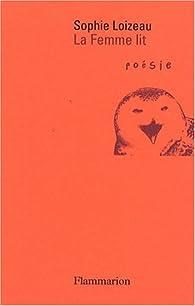 La femme lit par Sophie Loizeau