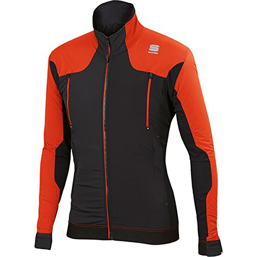 Sportful Dynamo Jacket - tomato/black