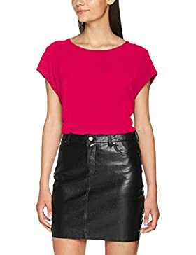 Only Onlvic S/S Solid Top Noos Wvn, Camiseta para Mujer