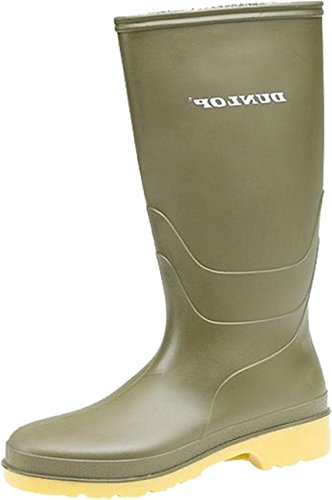 Dunlop Unisex Childrens 16247 Dulls Welly Full Knee Wellington Leisure Boot