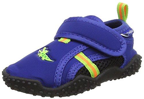 Playshoes Unisex-Kinder UV-Badeschuhe Aqua Schuhe, Blau (Marine), 22/23 EU