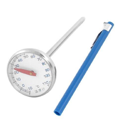 DealMux Edelstahl-Tief Fry Thermometer 5 Zoll Länge Sonden -