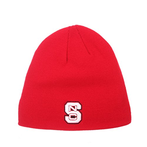 p-NCAA Ohne Winter Knit Beanie Toque Hat, North Carolina State Wolfpack - Red ()