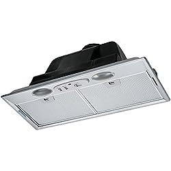 Franke FBI 512ECO GR Groupe de ventilation en acier inoxydable Filtre à graisse en métal passant au lave-vaisselle Commande par commutateur coulissant 52,2cm