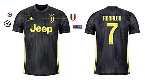 Trikot Herren Juventus 2018-2019 Third UCL - Ronaldo 7 (L)