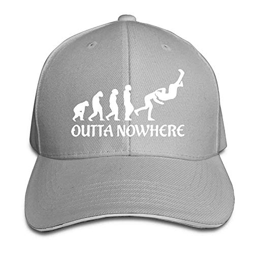 WYYCLD Premium Men Women Baseball Cap, Wrestling Outta No Where Adult Adjustable Snapback Hats Peaked Cap