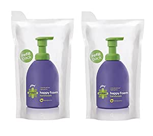 Godrej Protekt Happyfoam Handwash Refill Pouch - 400 ml (Pack of 2)