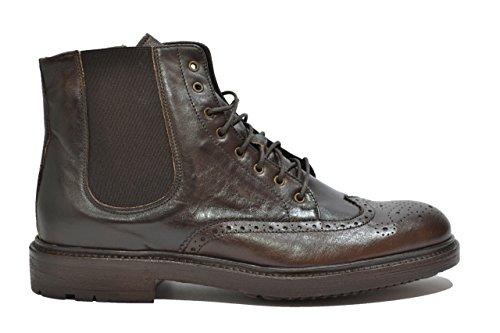 Melluso Tronchetti scarpe uomo bruno U90088 42