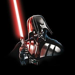 DeinDesign Nintendo Switch Folie Skin Sticker aus Vinyl-Folie Aufkleber Star Wars Fanartikel Merchandise Darth Vader