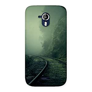 Fog Train Back Case Cover for Micromax Canvas Magnus A117
