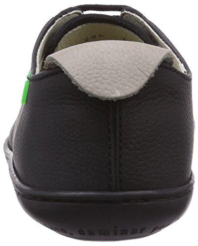 El Naturalista N296 EL VIAJERO, Unisex-Erwachsene Sneakers Schwarz (Black-Black)
