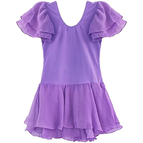iiniim Girls Ballet Tutu Dance Dancing Leotard Skirt Costume Dress