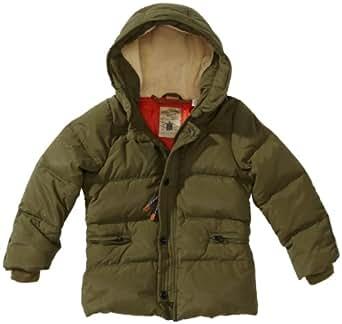 Scotch Shrunk Jungen Kurzmantel 13440710500 Longer Length Co Nylon Jacket,164 (14), Grün (66-Army)