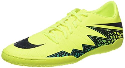 Nike Herren Hypervenom Phelon II IC Fußballschuhe, Amarillo (Amarillo (Volt/Black-Hyper Turq-Clr Jade)), 39 EU