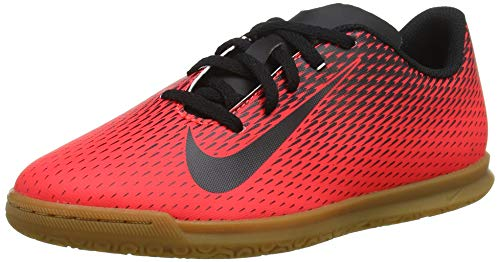 Nike Jr Bravata II IC, Scarpe da Calcetto Indoor Unisex-Adulto, Multicolore (Bright Crimson/Black 601), 38.5 EU