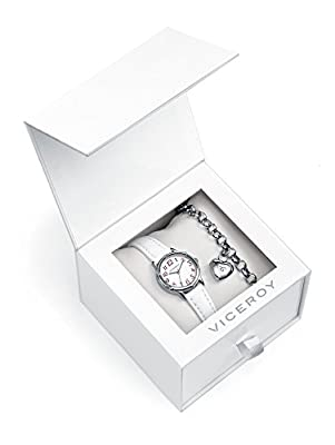 Conjunto Reloj Viceroy Niña 432258-05 Plata de Ley de GRUPO MUNRECO - VICEROY
