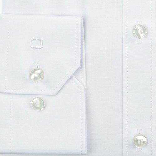 Herren Hemd No. 6 Super Slim Fit Langarm Weiß