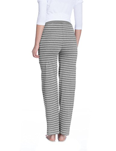 Bellybutton Damen Umstands Schlafanzughose EVIE - Schlafanzughose Grau (grey melange italy 8110)