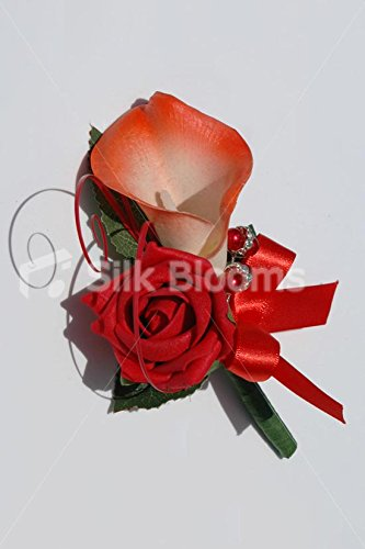 modern-red-rose-and-orange-calla-lily-buttonhole-buttonaire