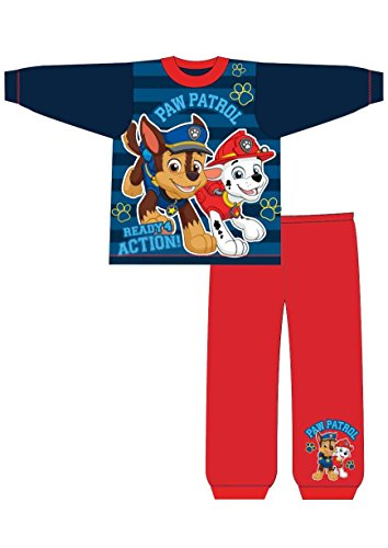Boys Paw Patrol Long Pyjamas Size 2-3 Years