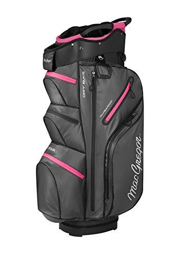 MACGREGOR MACBAG135 Sac de Golf pour Femme Charbon/Fuchsia...
