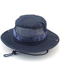 Señoras De Los Hombres Al Aire Libre Sombrero De Tamaños Cómodos Verano  Protección Solar Protección UV Sombrero De Sol Camuflaje… d861803f809