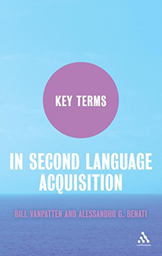 Key Terms in Second Language Acquisition by Bill VanPatten (4-Jan-2010) Paperback