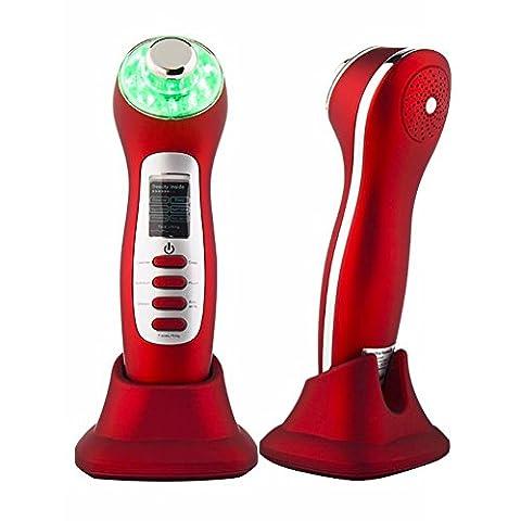 7-en-1 faciale thérapie infrarouge instrument ultrasonique raffermissant instrument de hydratant pour