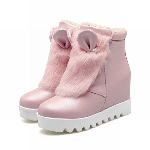 Misssasa Femme Chaussures À Talons Hauts Sweet And Fashion Pink Bottines