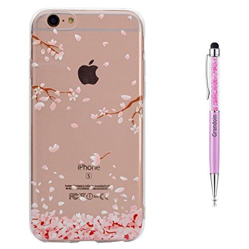 Grandoin iPhone 6S Hülle,iPhone 6 HandyHülle, Süßes Muster Weiche TPU Silikon Schutz Handy Handytasche Etui Schale Schutzhülle für Apple iPhone 6S/iPhone 6 4.7