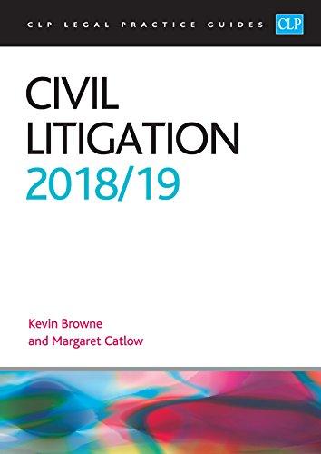 Civil Litigation 2018/2019 (CLP Legal Practice Guides) por Kevin Browne