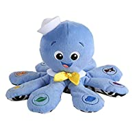 Plush Octopus Toy Soft Octopus Musical Toy Sensory Toys Stuffed Marine Animal Toy for Baby