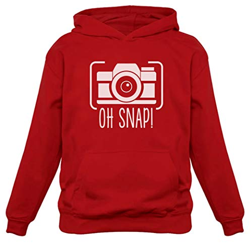 Oh Snap! - Gift for Photographer Funny Hoodie XX-Large Red