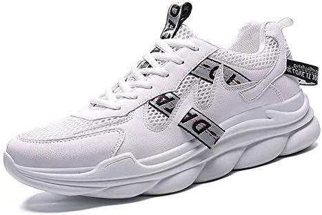 check out e65e3 ebff3 MMJ scarpe da ginnastica da Uomo, Mesh Uomini Uomini Uomini Moda Atletico  Scarpe Casual Soft Bottom Traspirante Uomo Scarpe da Corsa Academy Wild  Walking ...