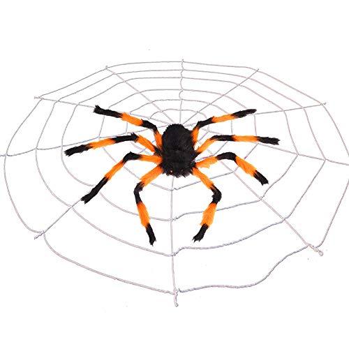 Beste Scary Halloween Dekorationen - Outdoor Halloween Dekorationen Scary Spider mit