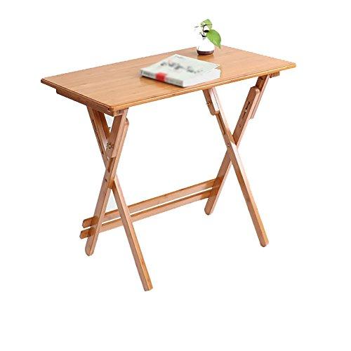 AIDELAI Klapptisch Klapptisch aus Bambus, Arbeitstisch für Wohnzimmertisch Schreibtisch Schreibtisch Schreibtisch Primaria...