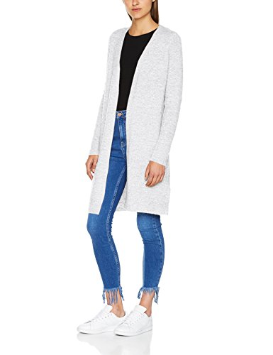 Only, Cardigan Donna Multicolore (White Melange)