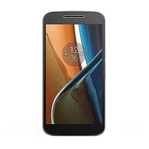 Motorola Moto G4 Smartphone (14 cm (5,5 Zoll), 16GB, Android) [Französische Version] schwarz