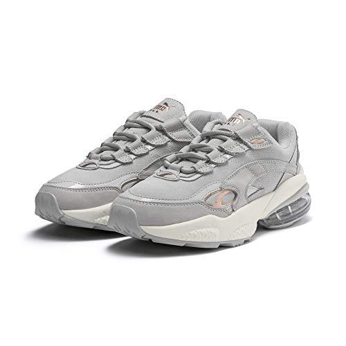 Puma Cell Venom Patent Damen Sneaker Gray Violet-Marshmallow 8 (Puma Cell Schuhe Für Frauen)