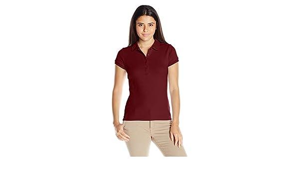 IZOD Juniors Uniform Short Sleeve Interlock Polo