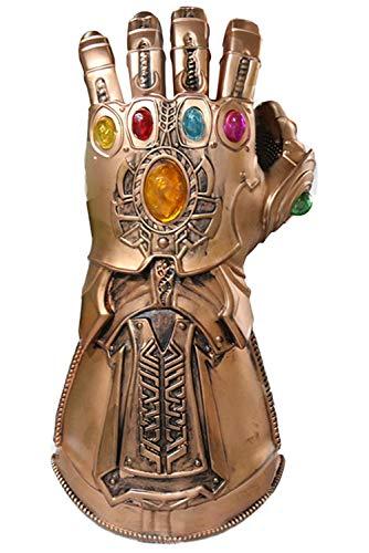 nos Infinity Gauntlet Latexhandschuhe für Halloween Karneval Fasching Requisiten Cosplay ()