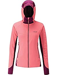 Rab Alpha Flux Jacket - Women's Coral/Berry/Berry M/12