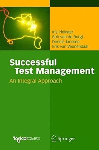 Successful Test Management: An Integral Approach por Iris Pinkster