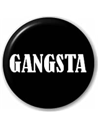 Small 25mm Lapel Pin Button Badge Novelty Gangsta Al Capone Gangster