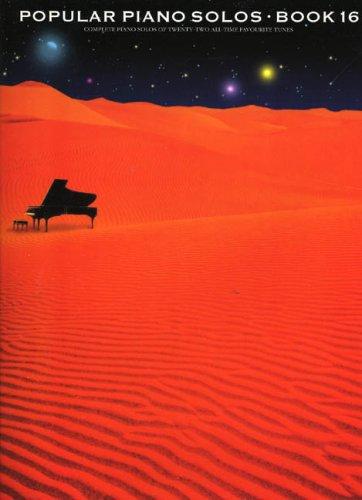 Popular Piano Solos: Book 16