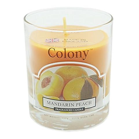 Wax Lyrical Homescents Glass Candle, Mandarin Peach