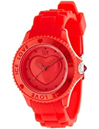 Ice-Watch Armbanduhr Ice-Love Unisex Rot LO.RD.U.S.10