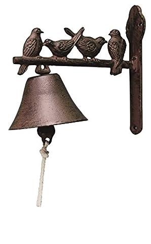 Esschert Design–Cloche décoré pour porte